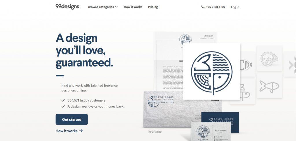 99designs, the global creative platform for custom graphic design