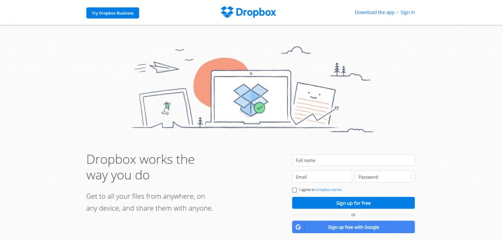 Dropbox, one of the more popular ways to manage and organize your files