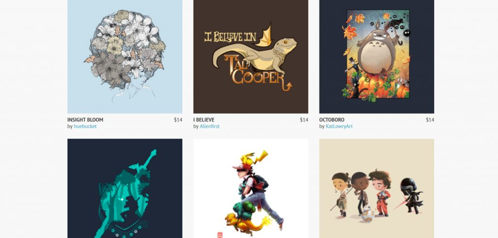 Pop Culture on TeePublic