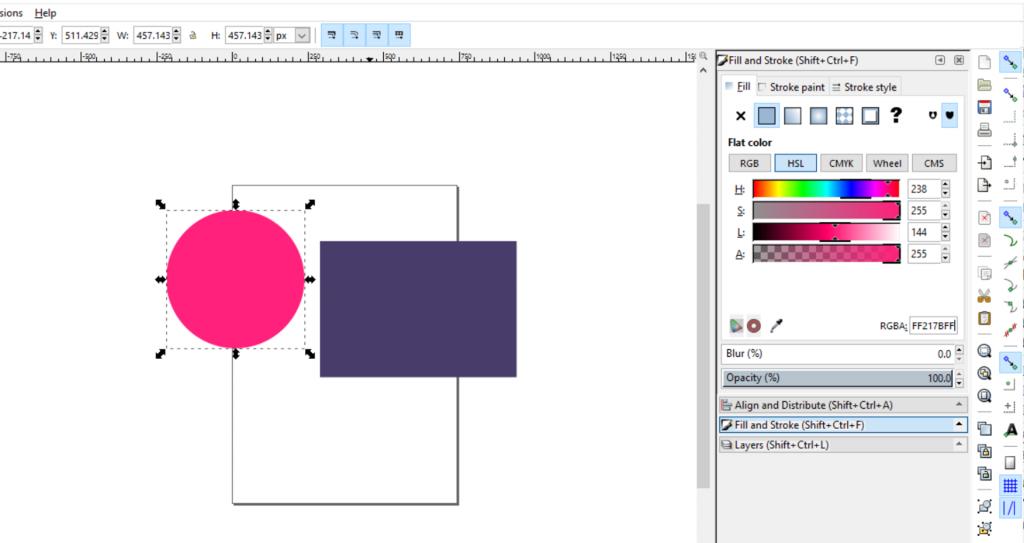 Creating a Circle