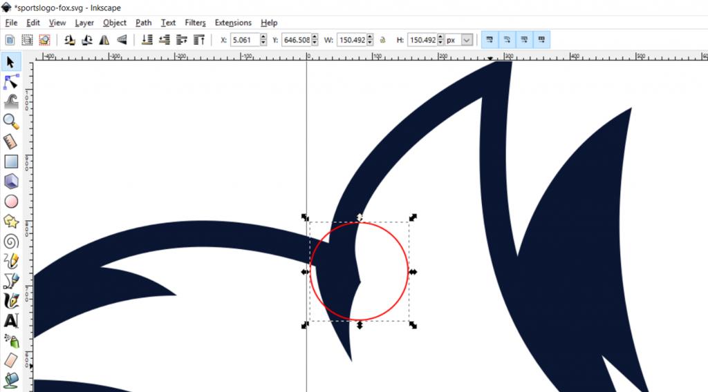 Designing a Sports Logo in Inkscape – FRAPHIC